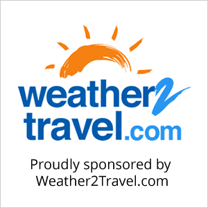 Proudly sponsored by Weather2Travel.com